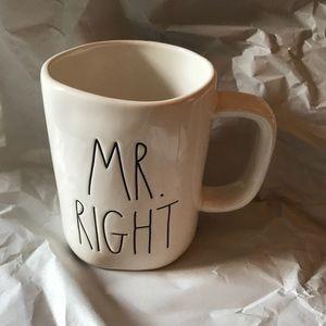 Rae Dunn mr. right Mug
